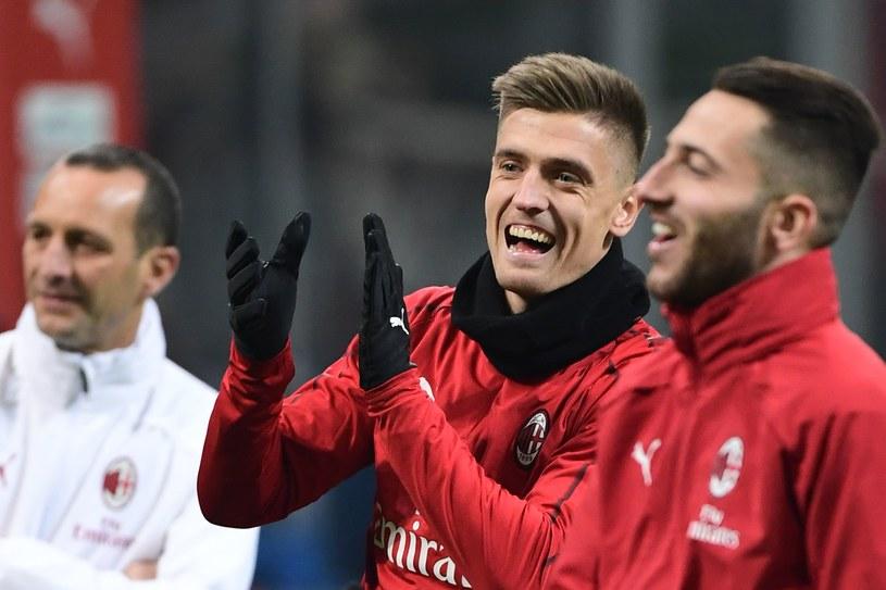 Krzysztof Piątek w barwach AC Milan /AFP