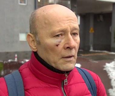 Krzysztof Pieczyński pobity w centrum Warszawy