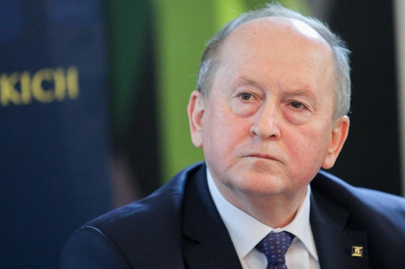 Krzysztof Pietraszkiewicz, prezes ZBP. /Tomasz Jastrzębowski /Reporter