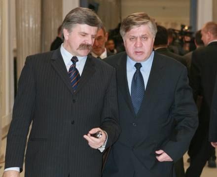 Krzysztof Putra i Krzysztof Jurgiel / fot. P. Bławicki /Agencja SE/East News
