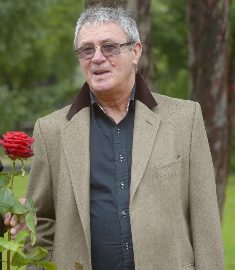 Krzysztof Rogala w 2017 roku na pogrzebie Janusza Głowackiego /Niemiec /AKPA