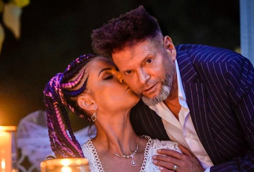 Krzysztof Rutkowski i jego piękna żona Maja /AKPA /AKPA