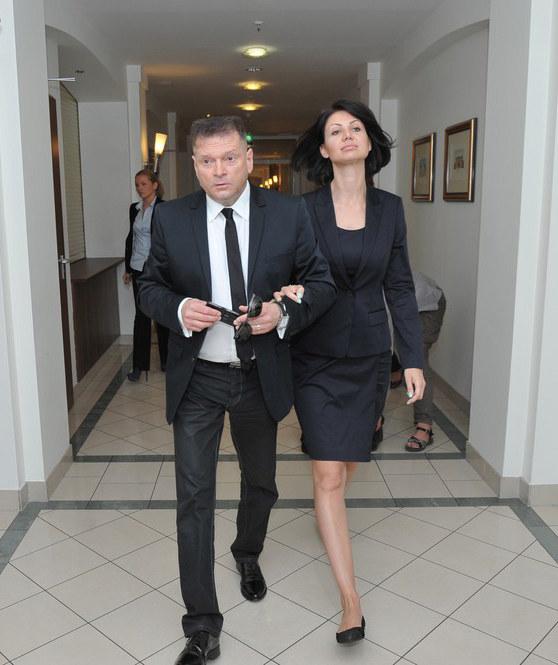Krzysztof Rutkowski i Maja Plich /Marcin Gadomski /East News