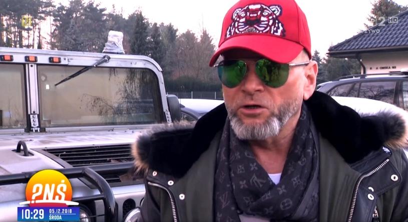"""Krzysztof Rutkowski w programie """"Pytanie na śniadanie"""" /TVP / Pytanie na śniadanie /materiał zewnętrzny"""