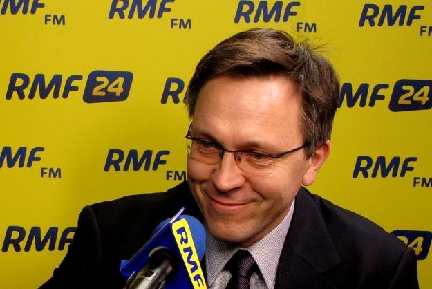 Krzysztof Rybiński, rektor Wyższej Szkoły Ekonomiczno-Informatycznej w Warszawie /RMF