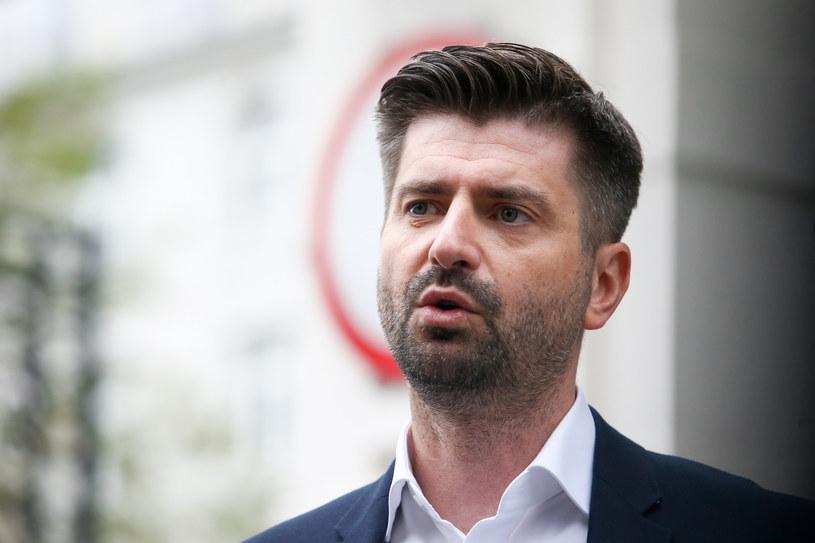 Krzysztof Śmiszek /Tomasz Jastrzebowski/REPORTER /Reporter