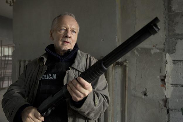 Krzysztof Stroiński na planie filmu / fot. Krzysztof Wiktor, Copyright ©Ent One Investments /Materiały prasowe