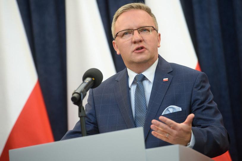 Krzysztof Szczerski: Orzeczenie Trybunału Konstytucyjnego powinno być opublikowane /Zbyszek Kaczmarek /Reporter