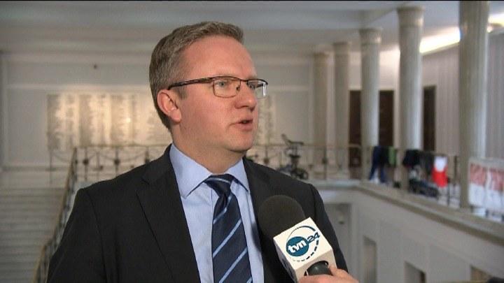 Krzysztof Szczerski /TVN24/x-news