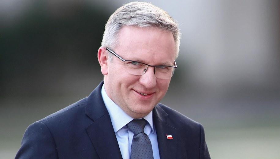 Krzysztof Szczerski //Łukasz Gągulski /PAP/EPA