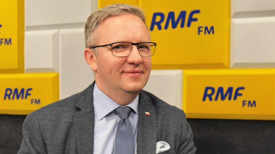 Krzysztof Szczerski /Michał Dukaczewski /Archiwum RMF FM