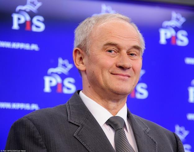 Krzysztof Tchórzewski, minister energetyki. Fot. PIOTR WYGODA /Agencja SE/East News