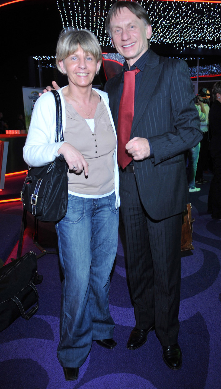 Krzysztof Tyniec z żoną, 2008 rok /Kurnikowski /AKPA