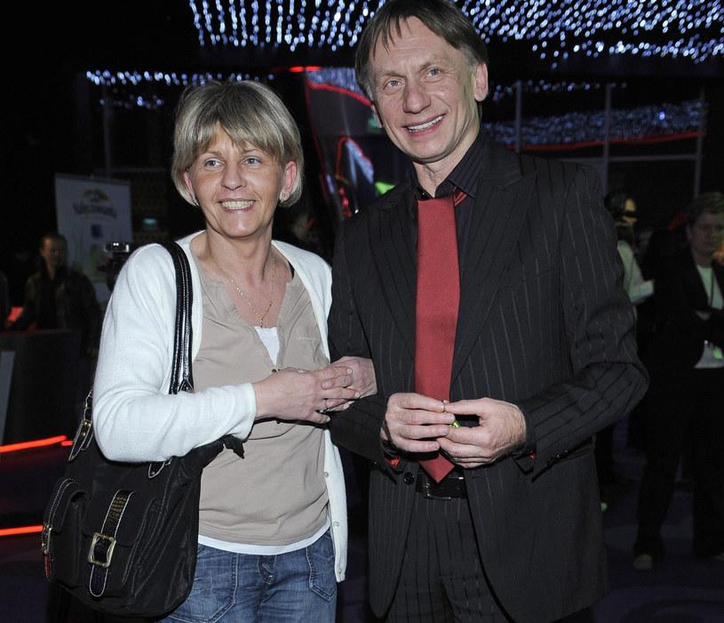 Krzysztof Tyniec z żoną /Tricolors /East News