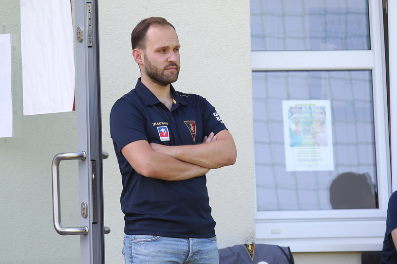 Krzysztof Ufland, rzecznik prasowy Pogoni Szczecin /Krzysztof Cichomski /Newspix