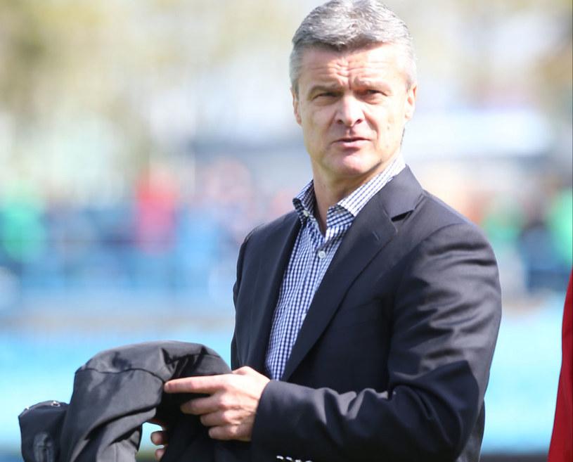 Krzysztof Warzycha zadebiutował w roli trenera Ruchu Chorzów /Marcin Bednarski /PAP