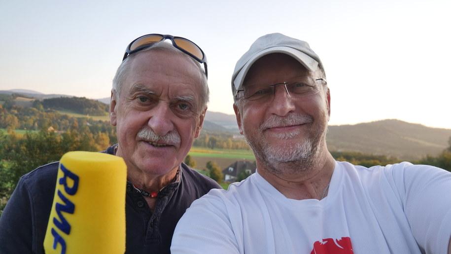 Krzysztof Wielicki i Krzysztof Nepelski z RMF FM /Krzysztof Nepelski /RMF FM