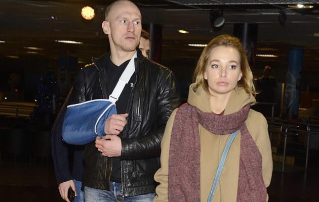 Krzysztof Włodarczyk z żoną /MWMedia