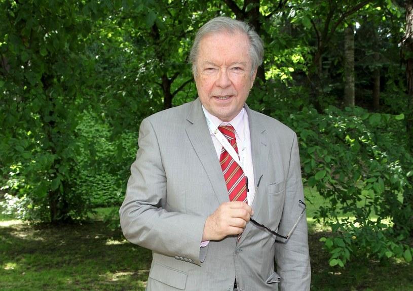 Krzysztof Zanussi - polski reżyser i scenarzysta /MWMedia /MWMedia