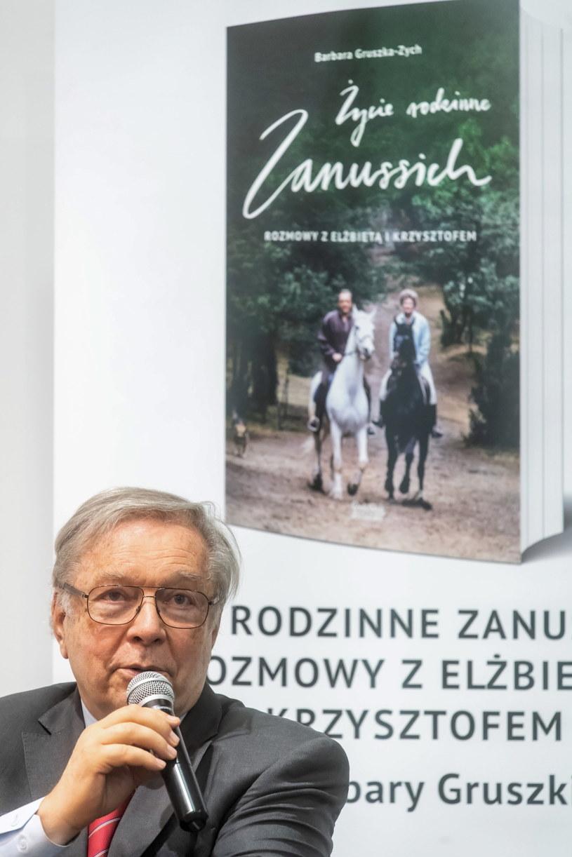 Krzysztof Zanussi / Tytus Żmijewski    /PAP