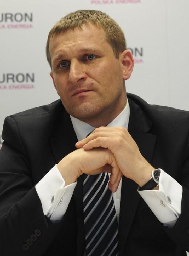 Krzysztof Zawadzki, wiceprezes Tauronu, Fot. Wlodzimierz Wasyluk /Reporter