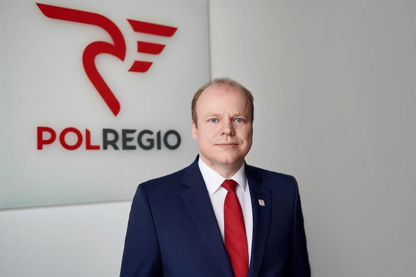 Krzysztof Zgorzelski, prezes POLREGIO. /materiały prasowe
