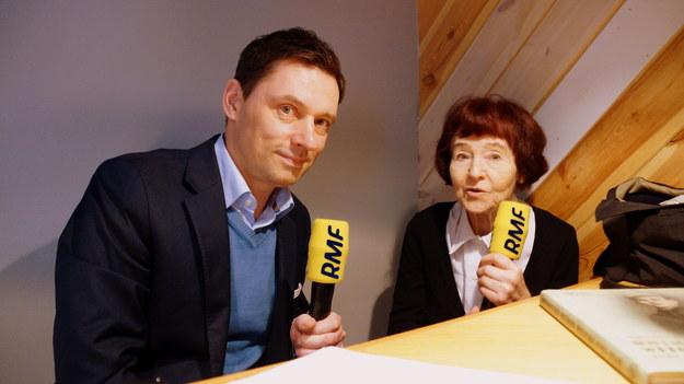 Krzysztof Ziemiec i Zofia Pilecka /Michał Dukaczewski /RMF FM