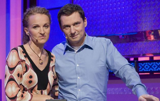 Krzysztof Ziemiec z żoną, fot.Łukasz Klimowicz  /East News