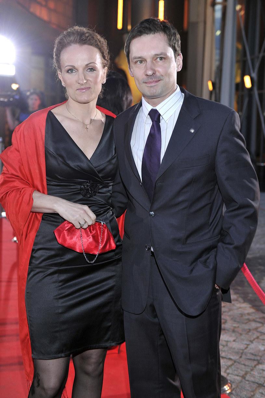 Krzysztof Ziemiec z żoną /Kurnikowski /AKPA