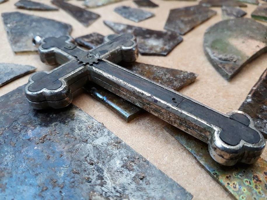 Krzyż, który trafił do muzeum /Muzeum Historii Ziemi Kamieńskiej /Materiały prasowe