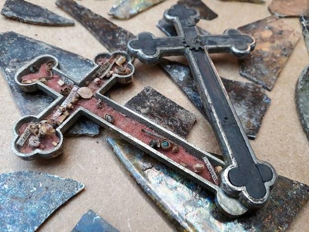 Krzyż się otwiera /Muzeum Historii Ziemi Kamieńskiej /Materiały prasowe