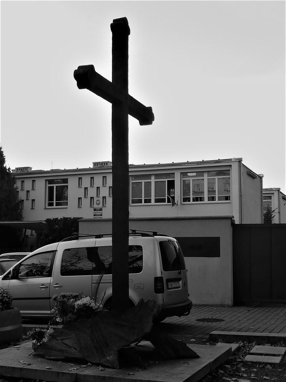 Krzyż w Nowej Hucie /Bogdan Zalewski /RMF FM