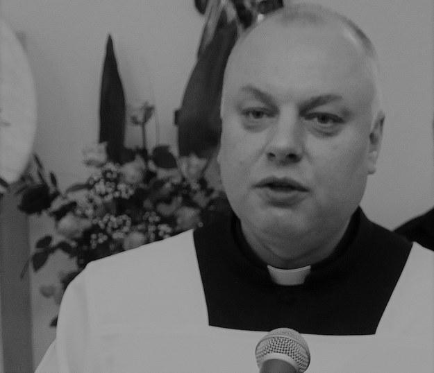 Ks. Andrzej Dymer /Jerzy Undro /PAP