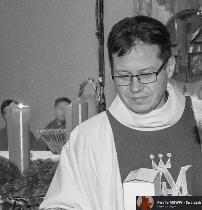 Ks. dr Artur Filipiak zmarł w wieku 45 lat /facebook.com