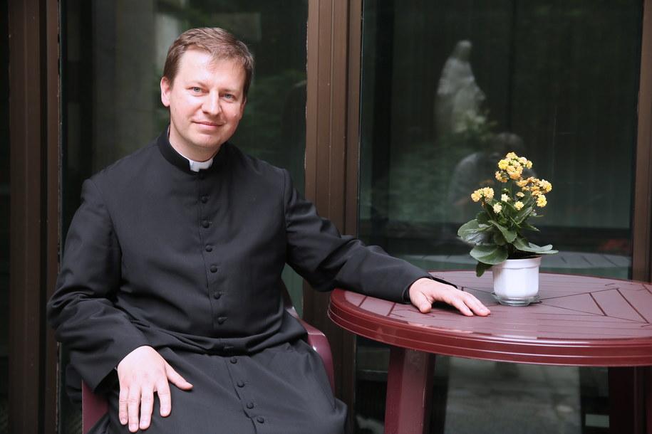 Ks. Paweł Rytel-Andrianik został wybrany przez biskupów nowym rzecznikiem prasowym Konferencji Episkopatu Polski /Tomasz Gzell /PAP