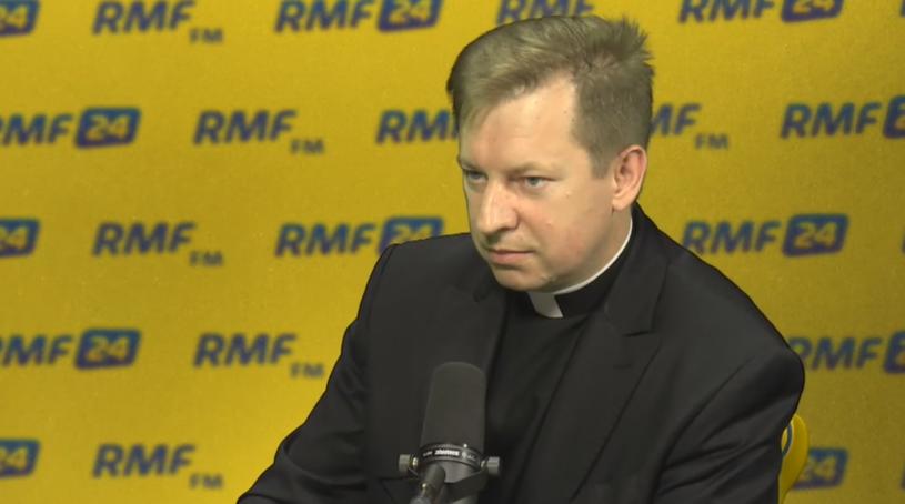 ks. Paweł Rytel-Andrianik /RMF