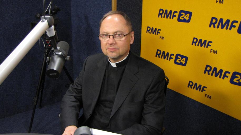 Ks. Sławomir Oder /Kamil Młodawski /RMF FM