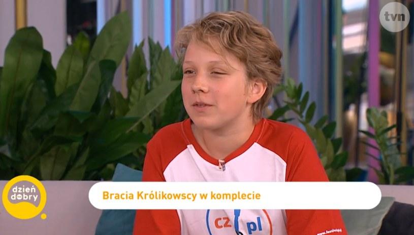 Ksawery Królikowski, Fot: dziendobry.tvn.pl/ /