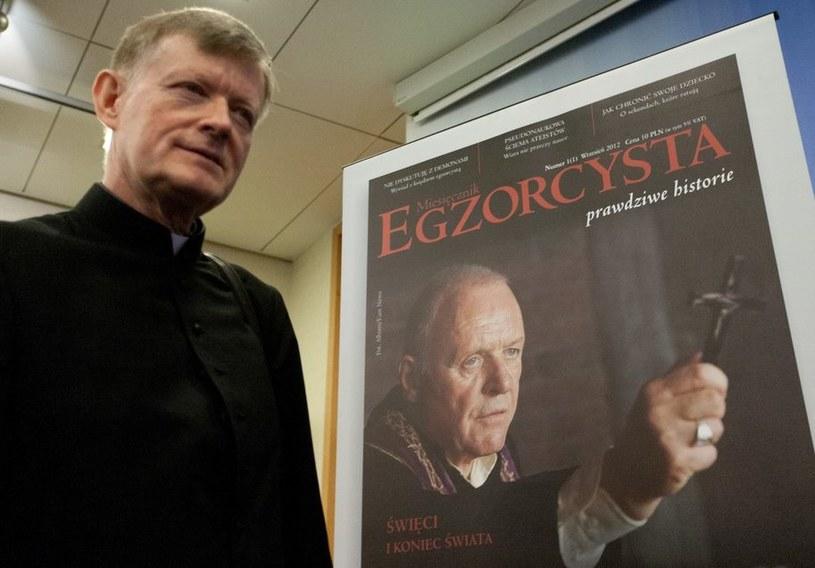 Ksiądz Andrzej Grefkowicz - zawodowy egzorcysta /East News