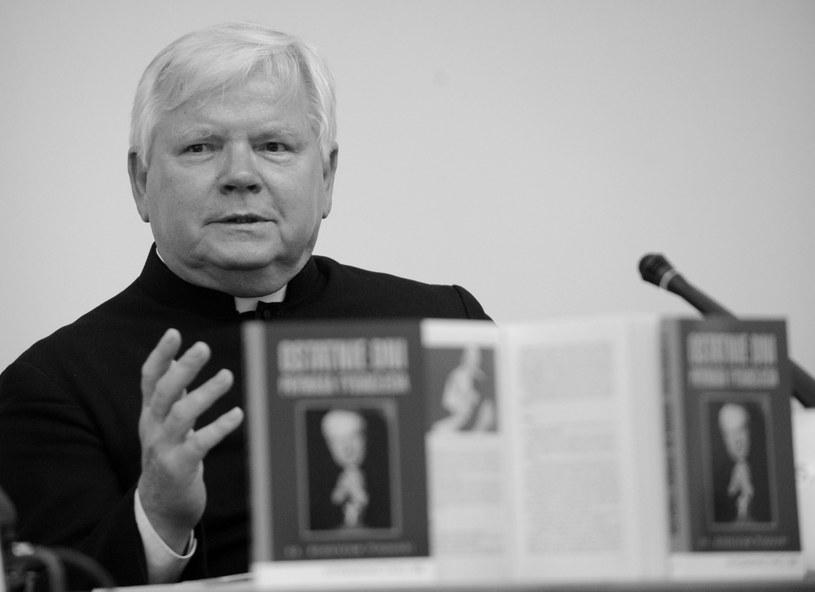 Ksiądz Bronisław Piasecki. /Paweł Kula /PAP