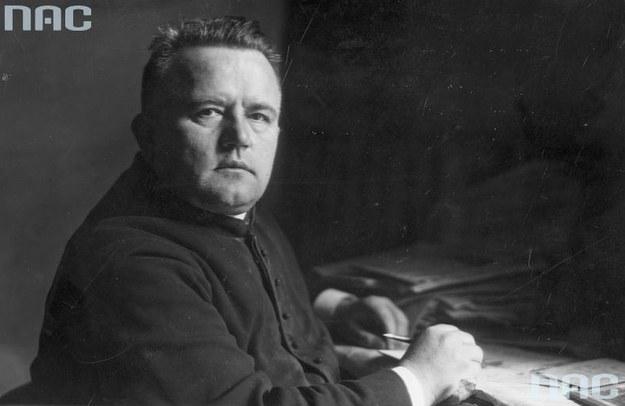 Ksiądz Eugeniusz Okoń: Jeden z przywódców Republiki Tarnobrzeskiej /Z archiwum Narodowego Archiwum Cyfrowego