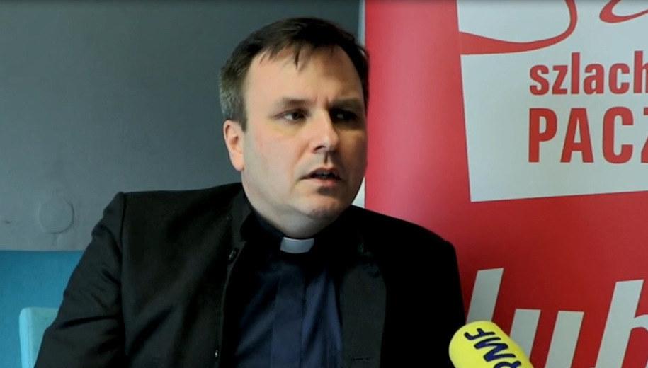 Ksiądz Grzegorz Babiarz /RMF FM
