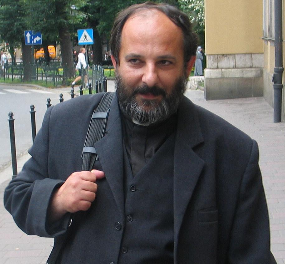 Ksiądz Isakowicz-Zaleski  /Maciej Grzyb /RMF FM