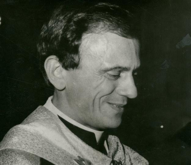 Ksiądz Jerzy Popiełuszko (Akta Eugeniusza Górskiego, sygn. 210) /Archiwum Akt Nowych