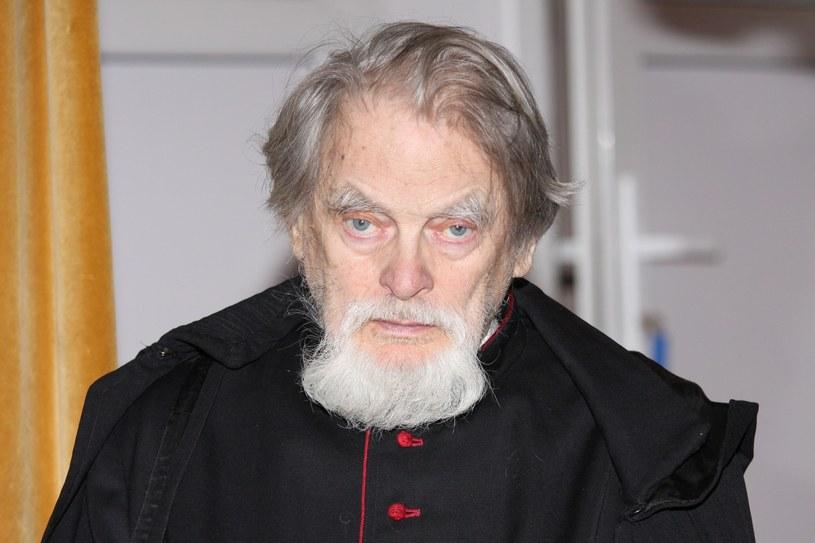 Ksiądz Kazimierz Orzechowski w Domu Aktora Weterana w Skolimowie w 2009 roku /Michał Czarnocki/ Press Photo Center /East News