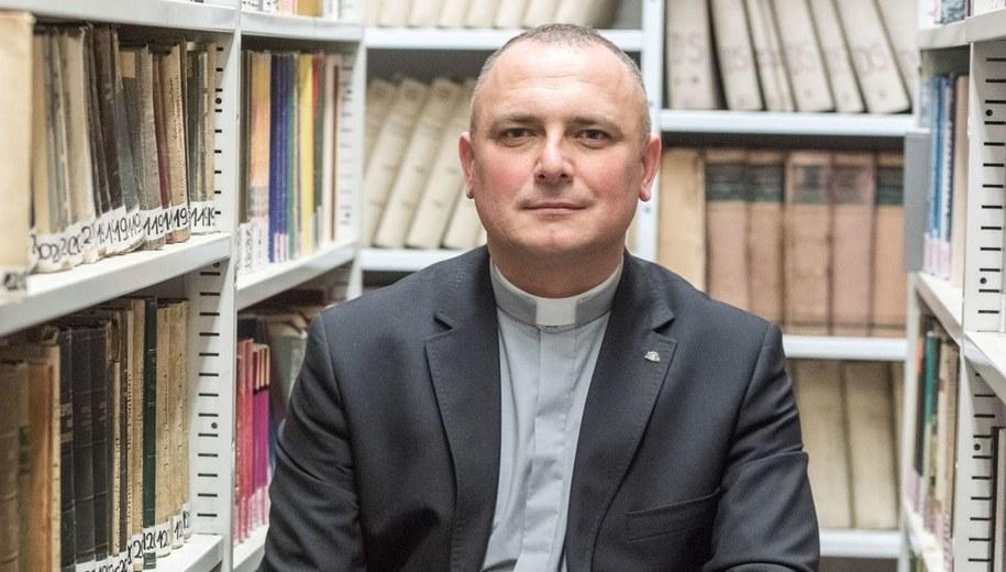 Ksiądz profesor Marcin Wysocki /Katolicki Uniwersytet Lubelski /Materiały prasowe