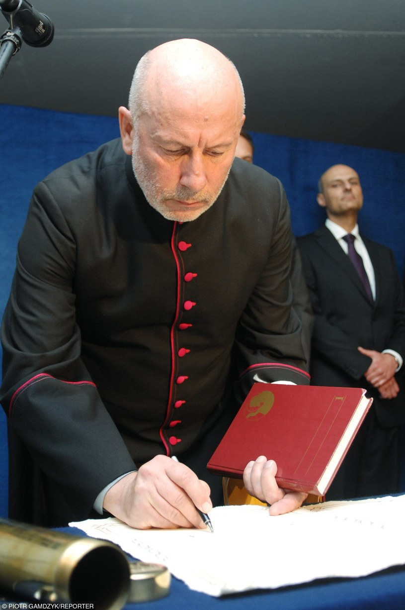 Ksiądz Seniuk /Piotr Gamdzyk/REPORTER /East News
