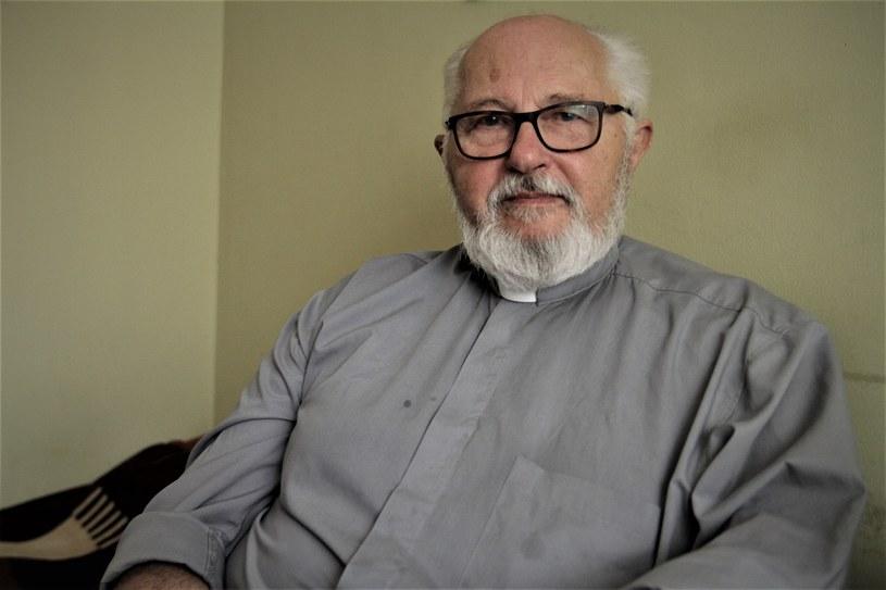 Ksiądz Stanisław Maciej Kicman, fot. Witold Ziomek/Wirtualna Polska /Deutsche Welle/Interia/Wirtualna Polska