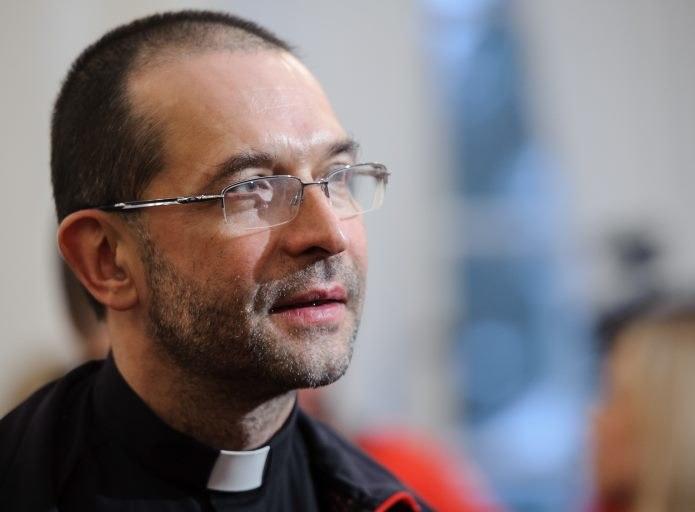 Ksiądz Stryczek, fot. Rafał Oleksiewicz /Reporter