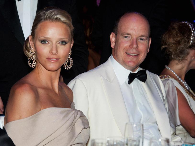 Książę Albert II z narzeczoną Charlene Wittstock  /Getty Images/Flash Press Media